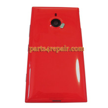 Back Housing Assembly Cover Generic with Wireless Charging Coil for Nokia Lumia 1520 -Red