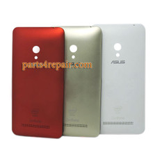 Back Cover with Side Keys for Asus Zenfone 5 A500KL -Red