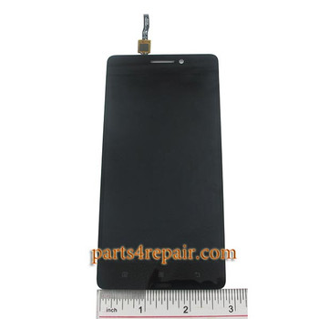 Complete Screen Assembly for Lenovo K3 Note (K50-T5) -Black