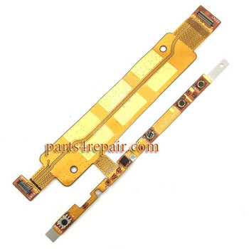 Side Key Flex Cable for Sony Xperia M4 Aqua from www.parts4repair.com