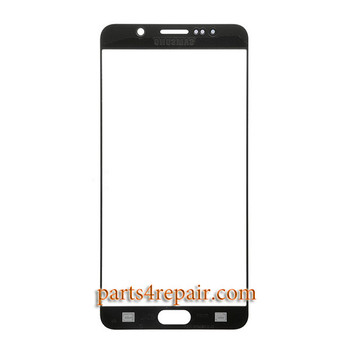 Front Glass OEM for Samsung Galaxy Note 5 All Versions -White