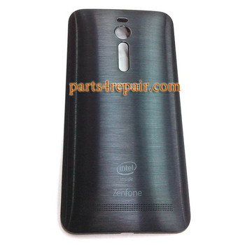 Back Cover for Asus Zenfone 2 ZE551ML ZE550ML -Black
