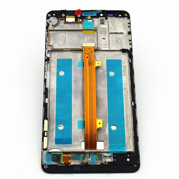 Complete Screen Assembly with Bezel for Huawei Ascend Mate 7 MT7-TL10 -Black