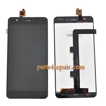 Complete Screen Assembly for JiaYu S3 from www.parts4repair.com