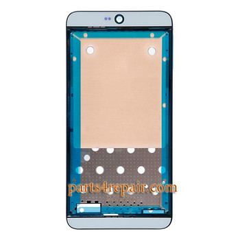 Front Housing Cover with Adhesive for HTC Desire 826 Dual SIM -Light Blue