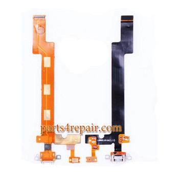 Dock Charging Flex Cable for Meizu MX5 from www.parts4repair.com
