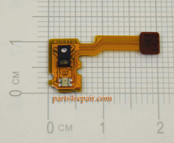 Proximity Sensor Flex Cable for Huawei P8 Lite from www.parts4repair.com