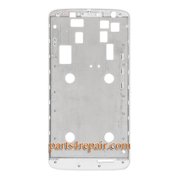 "Front Housing Cover for Motorola Moto X Play 5.5"" -White"