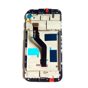 Complete Screen Assembly with Frame for Huawei G8 Black   Parts4Repair.com