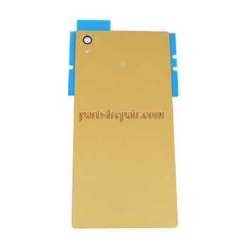 Generic Back Cover for Sony Xperia Z5 Premium -Gold