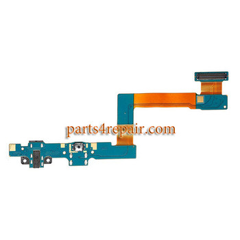 Samsung T555 Dock Port Flex Cable