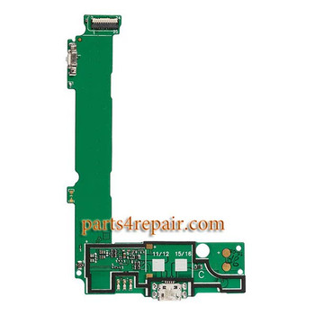Dock Charging PCB Board for Microsoft Lumia 535 from www.parts4repair.com