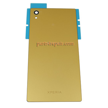 Back Cover for Sony Xperia Z5 E6653 -Gold