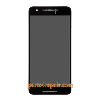 Complete Screen Assembly with Bezel for Huawei Nexus 6P -Black