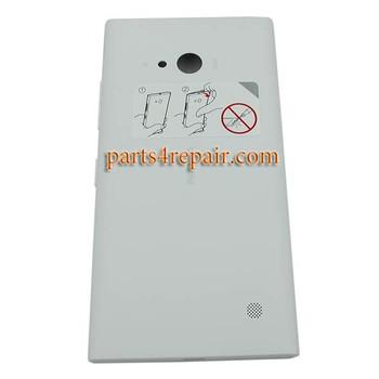 Full Housing Cover OEM for Nokia Lumia 730 -White