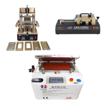 The Most Cost-effective Full Set of Machines for Broken LCD Repair & LCD Refurbish