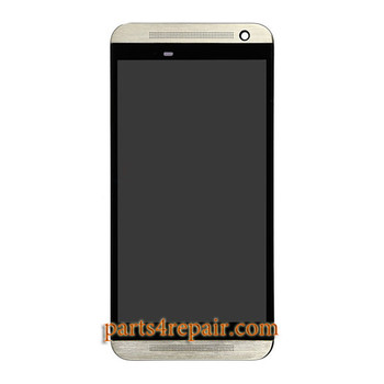 Complete Screen Assembly with Front Housing for HTC One E9 from www.parts4repair.com