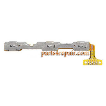 Side Key Flex Cable for HTC Desire 616 from www.parts4repair.com