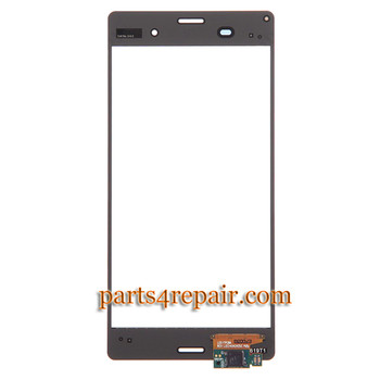 We can offer Touch Screen Digitizer for Sony Xperia Z3 -Black