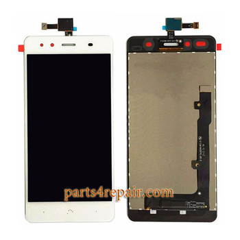 Complete Screen Assembly for BQ Aquairs X5 from www.parts4repair.com