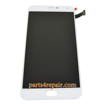 Complete Screen Assembly for Meizu Pro 5 from www.parts4repair.com