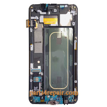 Complere Screen Assembly with Frame for Samsung Galaxy S6 Edge + | Parts4Repair.com