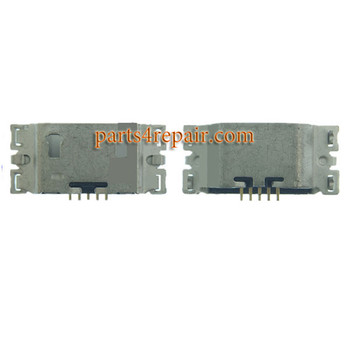 Dock Charging Port for Sony Xperia C5 Ultra from www.parts4repair.com