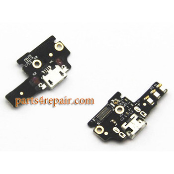 Dock Charging PCB Board for ZTE Nubia Z9 mini NX511J from www.parts4repair.com
