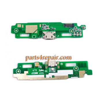 Dock Charging PCB Board for Xiaomi Redmi 3s from www.parts4repair.com
