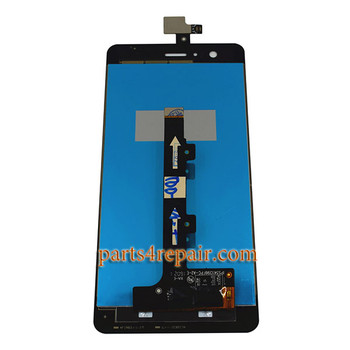 Complete Screen Assembly for BQ Aquaris M5 -Black