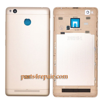 Back Housing with Side Keys for Xiaomi Redmi 3S