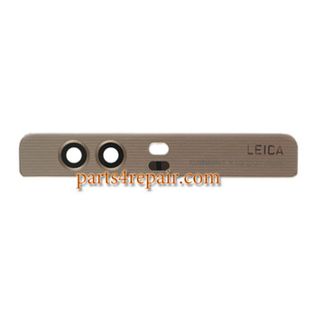 Top Glass Cover with Adhesive for Huawei P9 Plus