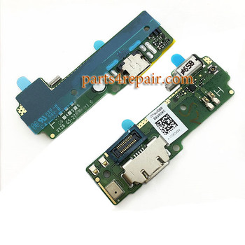 Dock Charging PCB Board for Sony Xperia XA from www.parts4repair.com