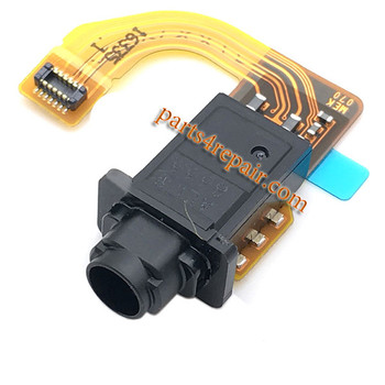 Earphone Jack Flex Cable for Sony Xperia X Compact F5321 from www.parts4repair.com