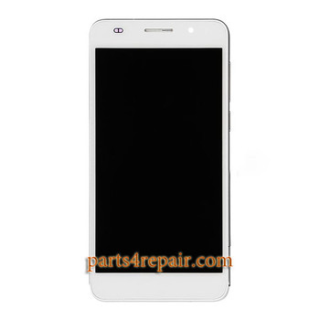 Complete Screen Assembly with Bezel for Huawei Honor 6 from www.parts4repair.com