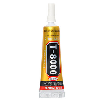 15ml T-8000 Epoxy Resin Multi Purpose Liquid Glue for Repairing Phone Screen Shell