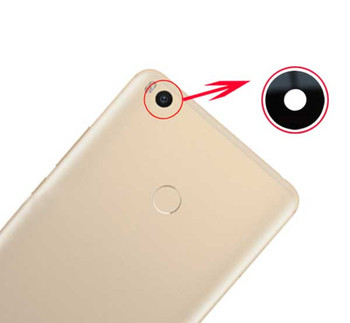 Camera Glass Lens with Adhesive for Xiaomi Mi Max 2 from www.parts4repair.com