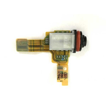 Earphone Jack Connector Flex Cable for Sony Xperia XZ1 Compact from www.parts4repair.com