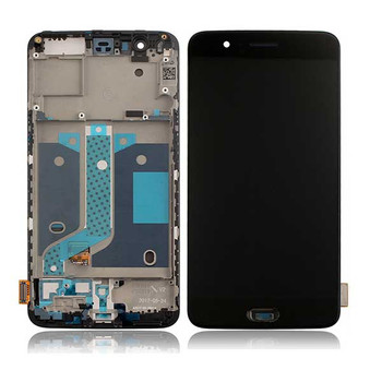 Complete Screen Assembly for Oneplus 5 from www.parts4repair.com