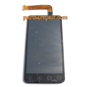 HTC EVO 3D Complete Screen Assembly from www.parts4repair.com