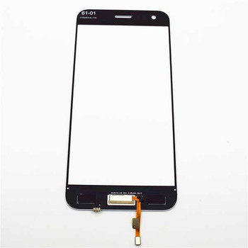Front Glass with Fingerprint Flex for Asus Zenfone 4 ZE554KL Black | Parts4Repair.com