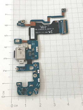 Dock Charging Flex Cable for Samsung Galaxy S9+ G965F from www.parts4repair.com