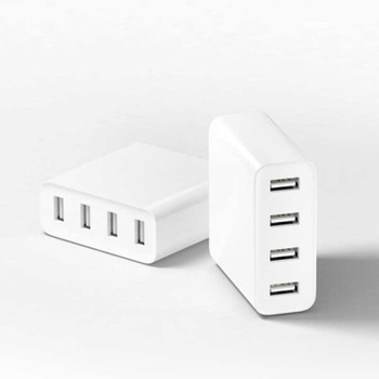 Xiaomi 5V Quick 4-Port USB Charger Adapter US Plug