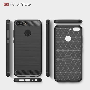 Carbon Fiber TPU Protector Case for Huawei Honor 9 Lite
