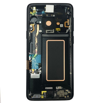 LCD Screen Digitizer Assembly with Bezel for Samsung Galaxy S9