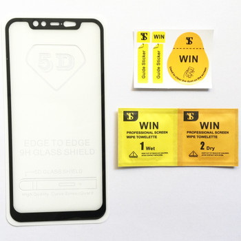 6D Full Cover Tempered Glass for Xiaomi Mi 8