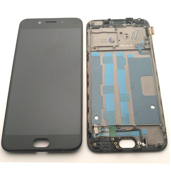 LCD Touch Screen Digitizer Assembly for Oppo R9s from www.parts4repair.com