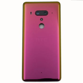 Back Housing Cover with Camera Lens for HTC U12+ Red