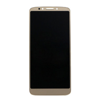 Motorola Moto E5 XT1922-4 LCD Screen and Digitizer Assembly Gold