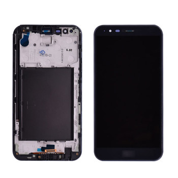 LG Stylo 3 Plus LCD Screen and Digitizer Assembly  with frame
